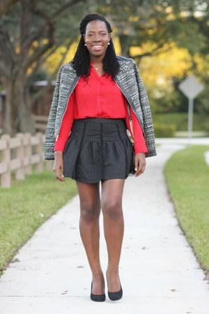 tweed alloy jacket