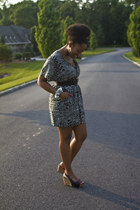 Urban  Outfitters dress - Nine West wedges
