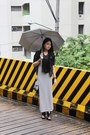 Heather-gray-maxi-random-dress-black-biker-from-hk-jacket-black-with-chain-p
