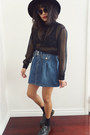 Skirt-dr-martens-shoes-sheer-black-h-m-top