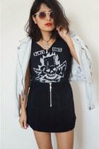 skirt - jacket