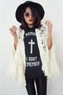 Knitcrochet-vintage-cape-unif-t-shirt