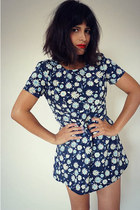 floral print vintage dress