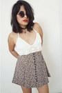 Express-skirt-crochetwhite-top