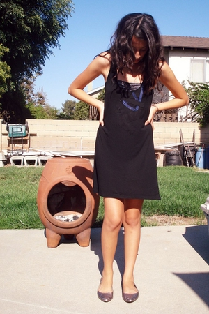 Urban Outfitters dress - American Apparel bra - shoes