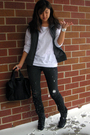 Black-ag-jeans-black-alexander-wang-accessories-white-madewell-shirt-black