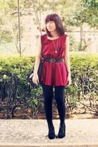 maroon Chicmoss dress