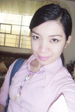 necklace - blouse