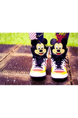 mickey mouse adidas sneakers