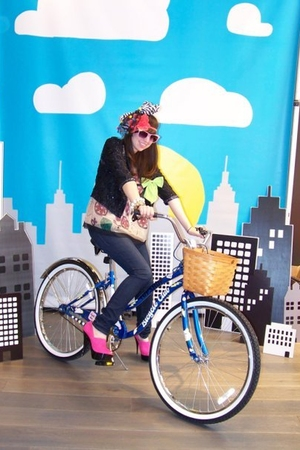 Topshop Bicycle Club!!
