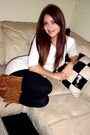 White-forever21-blouse-black-h-m-leggings-brown-aeropostale-boots-black-ac