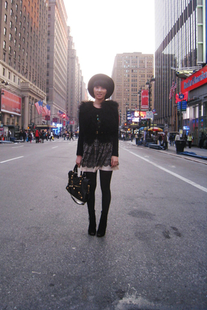Zara vest - ferragamo belt - vintage hat - Urban Outfitters boots - from Korea s