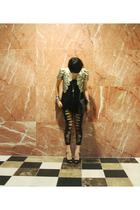 vintage vest - H&M top - Forever21 - Chanel