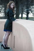 Jessica Simpson coat - Jessica Simpson shoes - BCBG Maxazria dress