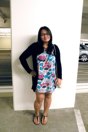 forever 21 top - Billabong dress - Urban Outfitters purse - Steve Madden shoes