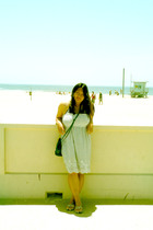 forever 21 dress - H&M purse - Old Navy shoes - Target swimwear