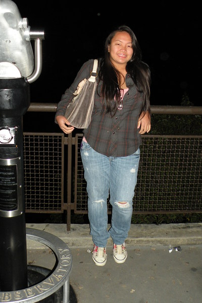 Arizona shirt - forever 21 shirt - abercrombie & fitch jeans - Ed Hardy shoes -