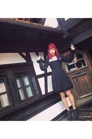 black black gothic Moi meme Moitie dress