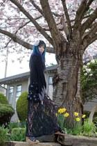 kimono HNaoto jacket - lace maxi salsit dress