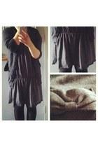 wool  cardigan - fleece  dress