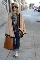 crimson beaded vintage blouse - black ankle strap Zara shoes