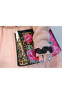 Silk-vintage-dress-betsey-johnson-bag-polka-dot-tierd-vintage-blouse