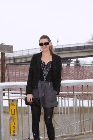 sarah bustier Vedette bodysuit