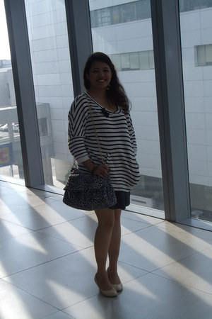 Finickee shoes - bag - skirt - Forever 21 top