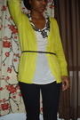 Forever-21-neon-yellow-cardigan-urban-outfitters-top-black-skinny-belt-urb