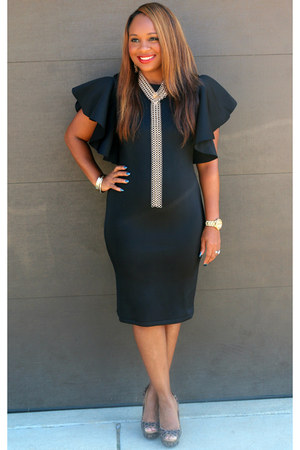 black On and Off the Runway Boutique dress