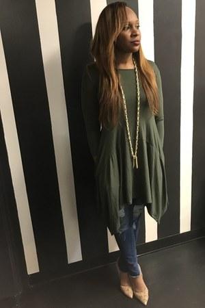 olive Trish M Fashions top