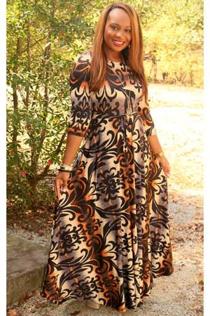 damask Mini Mall Boutique dress