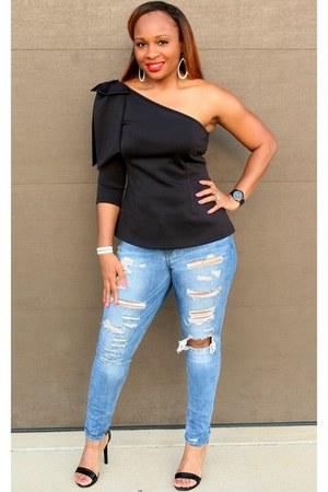 black Trish M Fashions top