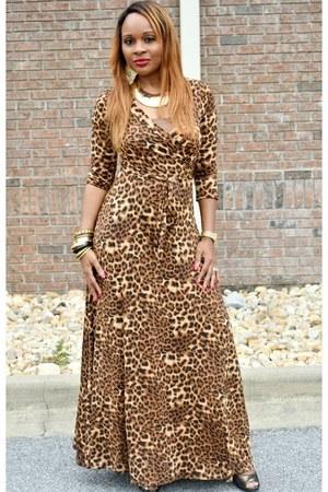 leopard print Trish M dress