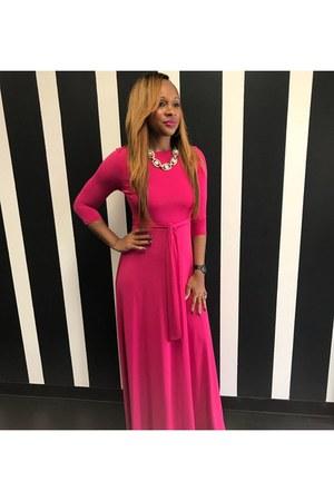 pink Trish M Fashions dress