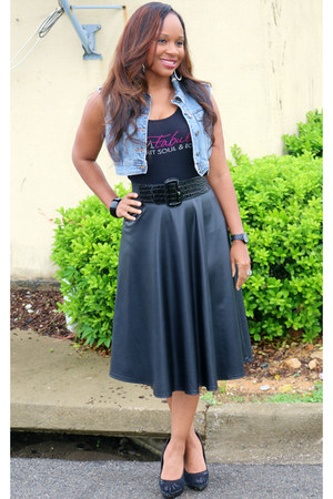 bling tank Trish M Fashion top - Shop Pretty Pieces skirt