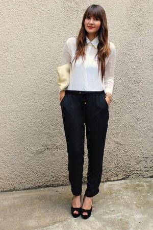 Sheinside blouse - H&M pants
