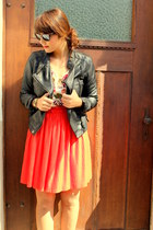 Pimkie jacket - H&M hat - H&M shirt - H&M skirt