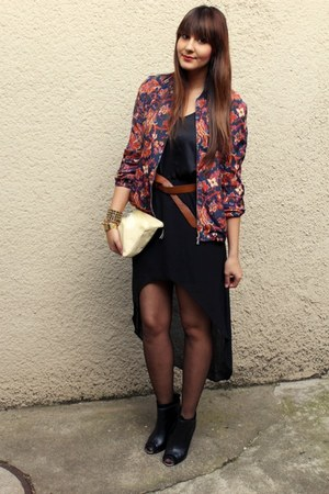 Zara jacket - Mango shirt - Zara skirt