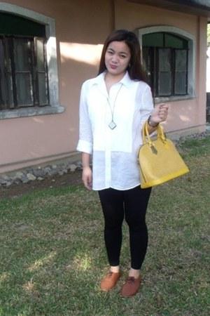 bag Louis Vuitton bag - lace up oxfords Prima Donna flats