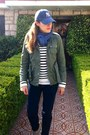 Zara-shoes-cap-ny-yankees-hat-parka-asos-jacket-pull-bear-sweater