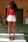 Pink-forever-21-top-beige-forever-21-shorts-brown-nine-west-shoes-pink-for