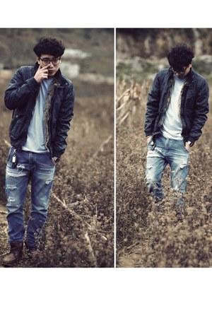 H&M boots - H&M blouse