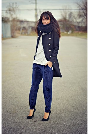 blue velvet Oasapcom pants