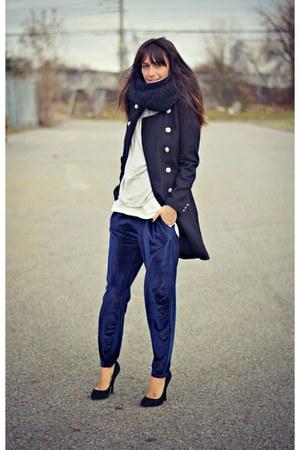 blue velvet Oasapcom pants