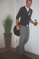 H&M t-shirt - Simons - volcom pants - Diesel - Narrative boots - tissot