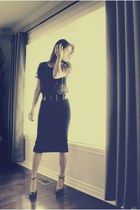 black Sirens skirt - black mary-janes Aldo heels
