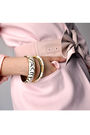 Pink-ebay-blazer-black-h-m-shorts-black-aldo-boots-pink-ardene-belt-gold