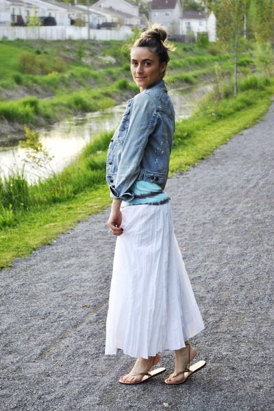 How to Wear White Maxi Skirt - Search for White Maxi Skirt | Chictopia