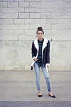 black Missguided jacket